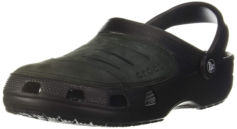 Buy crocs Men's Bogota Leather Clogs at