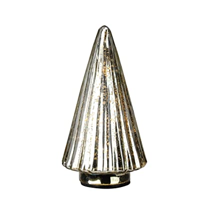 "the latest 90968 5c611 Amazon.com: Raz 9.75"" Lighted Yellow Mercury Glass Christmas ..."