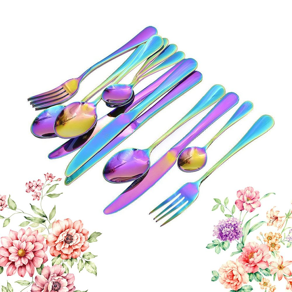 RUILASA Stainless Steel Cutlery Set Viners Daley 16 Piece Cutlery Set Lovely Design