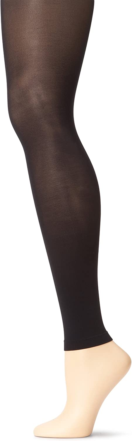 L//XL Capezio Ultra Soft Footless Tights for Women Style 1817 S//M