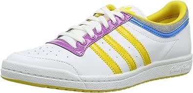 adidas Top Ten Low Sleek W, Botines para Mujer, Blanco-Running White FTW/Tribe Yellow/Joy Orchid, 38 EU: Amazon.es: Zapatos y complementos
