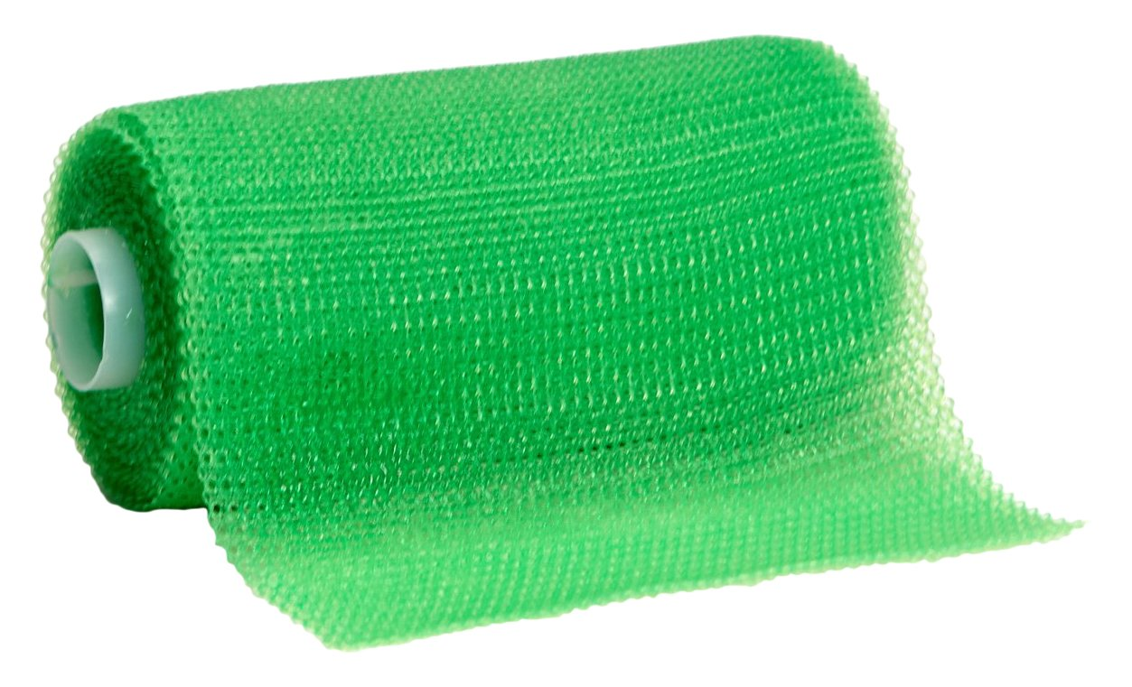 3M Scotchcast 82004V Plus Casting Tape, Bright Green 4'' x 4 Yard (Pack of 10)