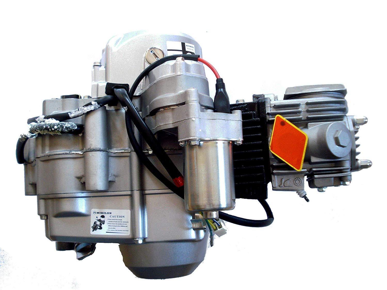 HMParts ATV Quad Motor SET 125 ccm vollautomatik Rückwärtsgang E-Starter oben