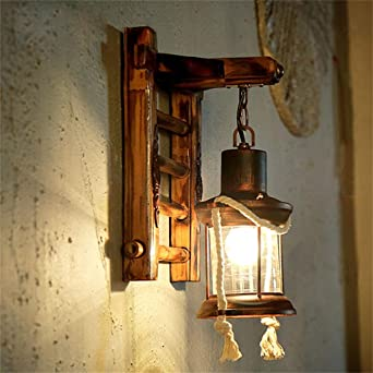 Amerikanischen Dorf Mediterrane Restaurant Flur Wandleuchte Wandleuchte  Dachboden Teestube Neuen Chinesischen Bambus Wand Lampen
