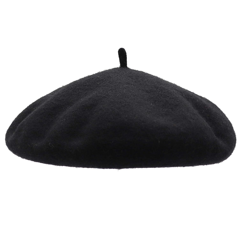 Umeepar Wool French Beret Hat for Women