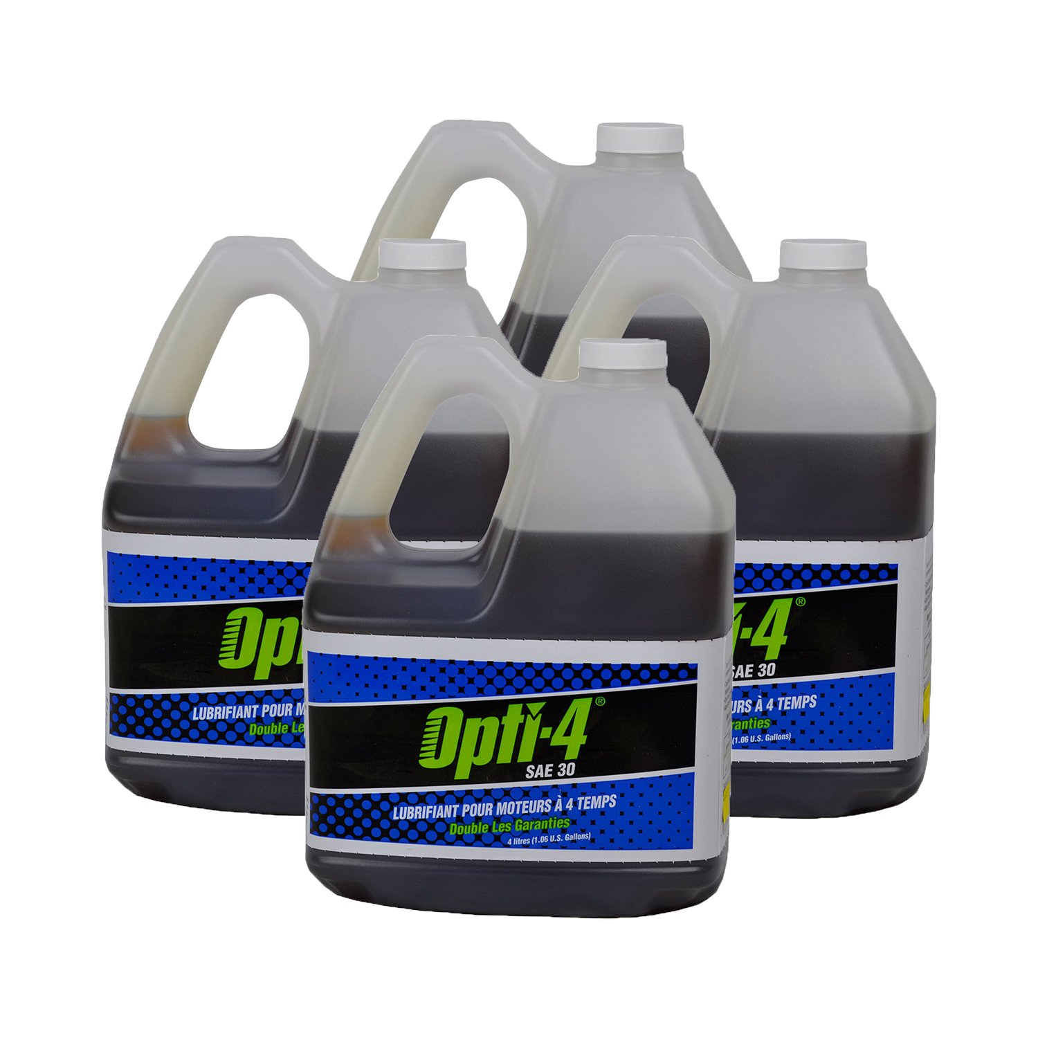 Opti 43444 4 Gallons SAE 30W 4-Cycle Engine Lubricant