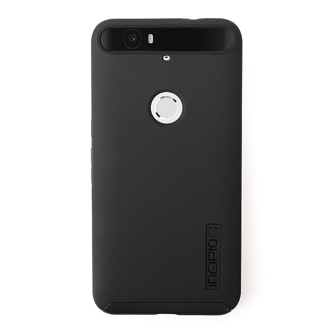 new product d1812 cb0e5 Huawei Nexus 6P Case, Incipio [Hard Shell] [Dual Layer] DualPro Case for  Huawei Nexus 6P-Black/Black