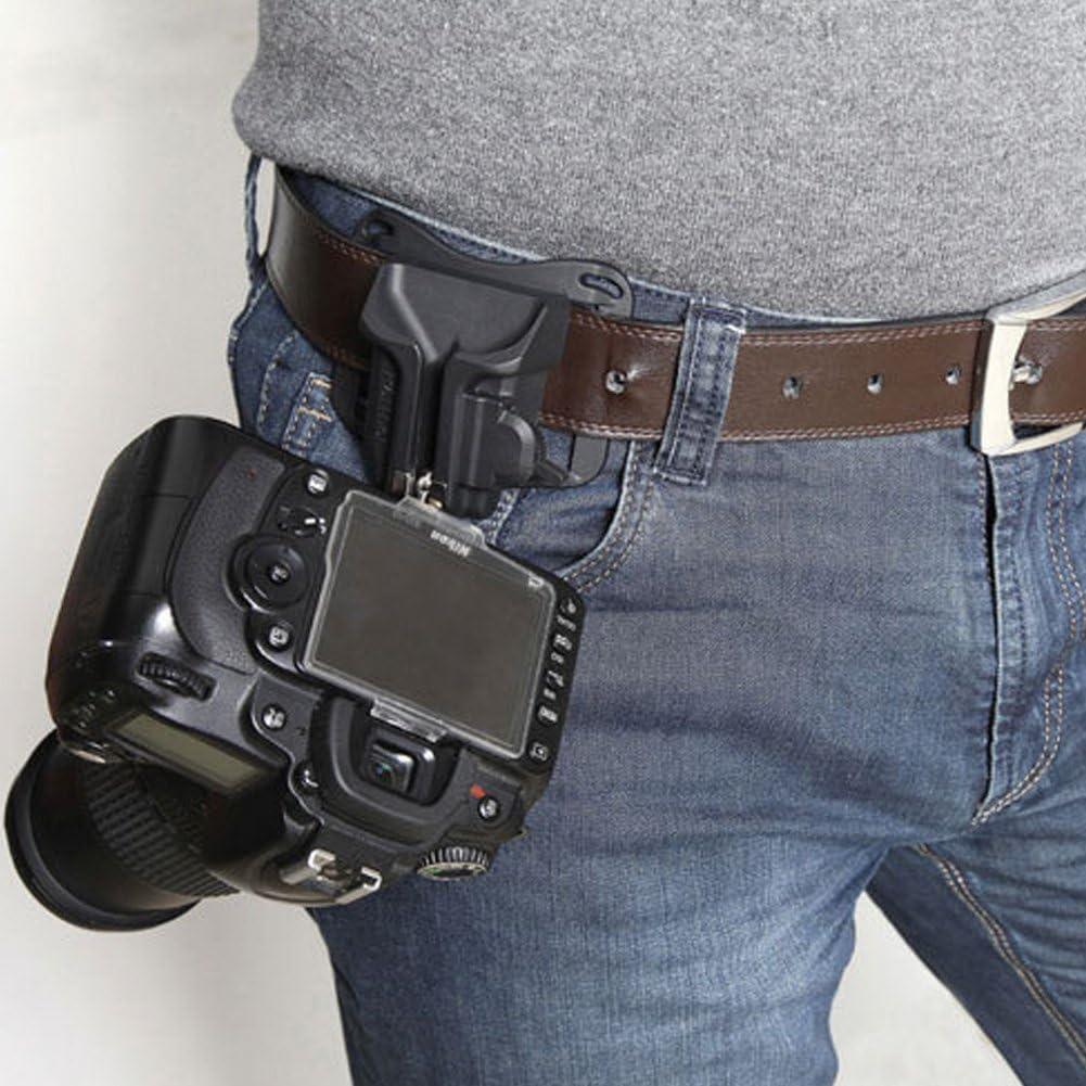 DSLR - Soporte para cámara de Fotos (Hebilla de cinturón rápido ...