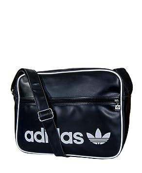 41fcaa5aa8f9 Adidas Adicolor Airline E41861 Bag black white onesize  Amazon.co.uk ...