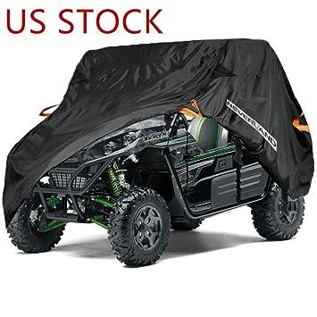 Neverland Universal 190T impermeable y ligera utilidad vehículo cubierta de almacenamiento para Polaris RZR xp 1000 EPS XP Turbo EPS (US stock): Amazon.es: ...