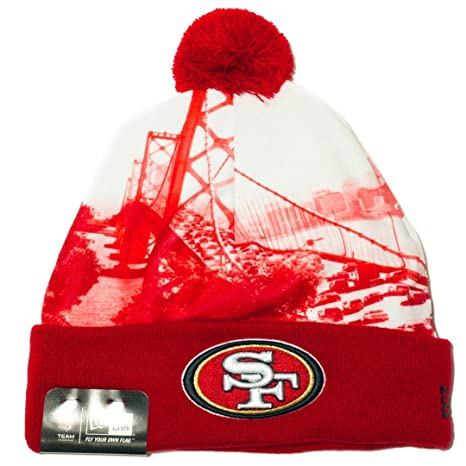 cd0ee417997 Image Unavailable. Image not available for. Color  New Era NFL Scapeshot  Beanie Authentic (49ers)