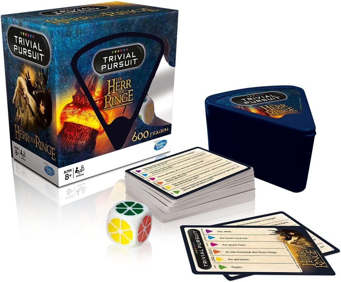 Winning Moves Lord of the Rings Board Game Trivial Pursuit *German ...