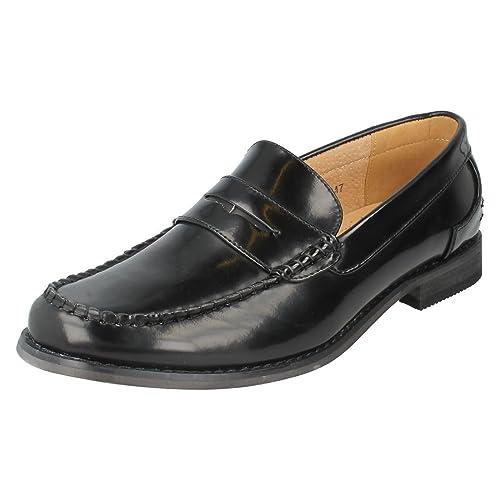 Clarks - Mocasines para hombre Negro negro: Amazon.es: Zapatos y complementos