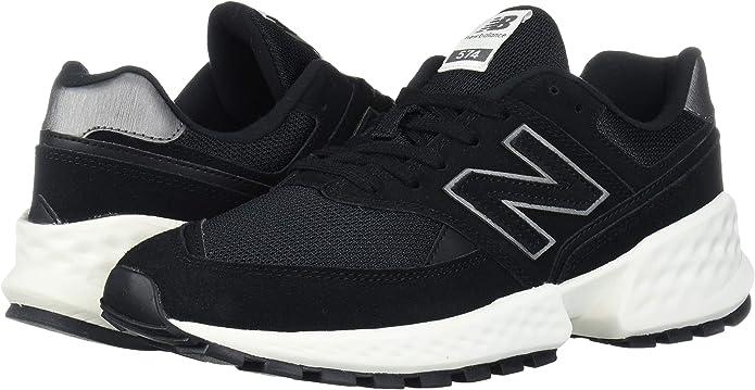 New Balance 574v2, Zapatillas de Gimnasia. Mujer. Negro Size: 39.5 EU: Amazon.es: Zapatos y complementos