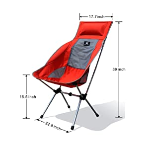 Moon Lence camping chair