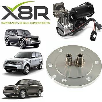 Land Rover Range Rover 06 - 09 secador de compresor de aire nuevo End Cap Kit de reparación x8r37: Amazon.es: Coche y moto