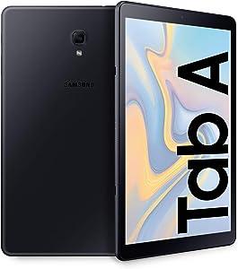 Samsung Galaxy Tab A (2018) SM-T590 - Tableta 26.7 cm, 1920 x 1200 Pixeles, 32 GB, 3 GB, 1,8 GHz, Negro