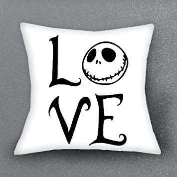 Amazon Com Chitop The Nightmare Before Christmas Cushion Cover