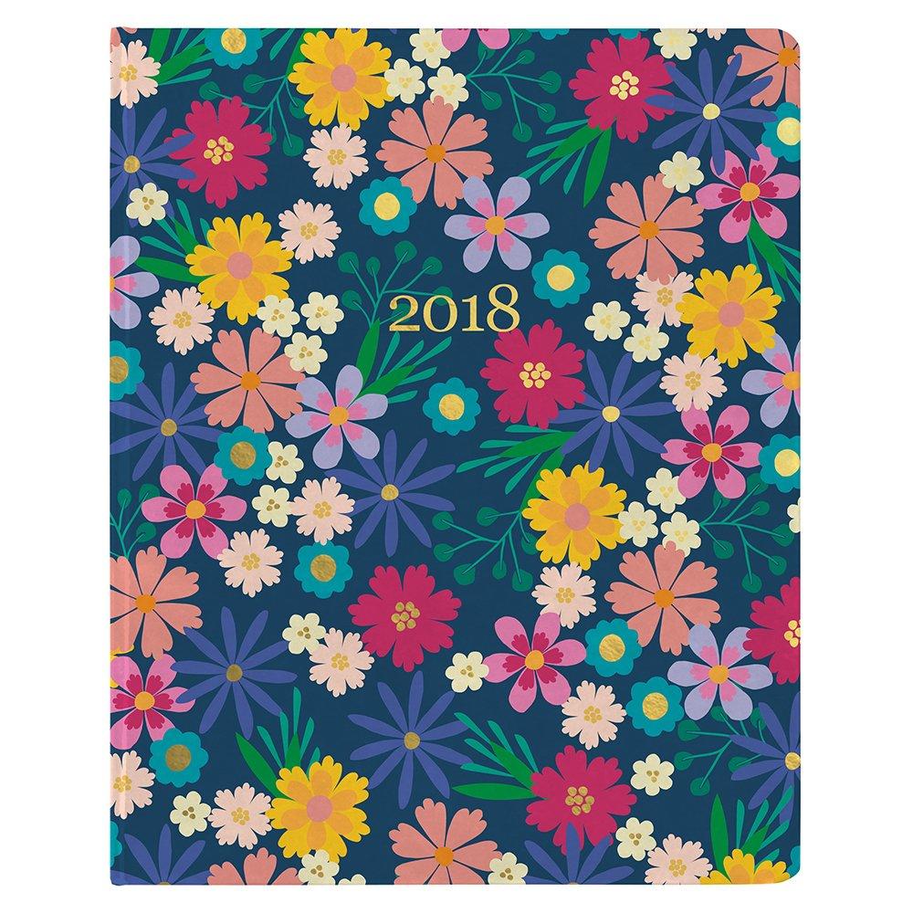Erin Condren 2018 Hardbound LifePlanner- Floating Florals, 8x10
