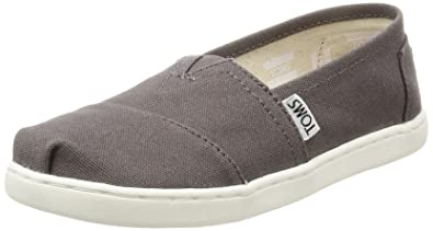 9ea5a60c5c1 TOMS Kids Unisex Alpargata 2.0 (Infant Toddler Little Kid) Ash Canvas 2