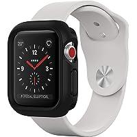 RhinoShield Coque Bumper pour Apple Watch Series 1 / Series 2 / Series 3-38 mm [CrashGuard NX] Protection Fine Personnalisable avec Technologie Absorption des Chocs - Noir