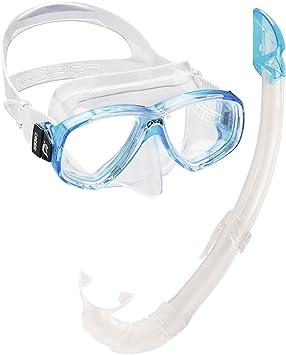 Cressi Perla Mare - Set para Snorkeling Mascara e Tubo, Fabricado en Italia, Color