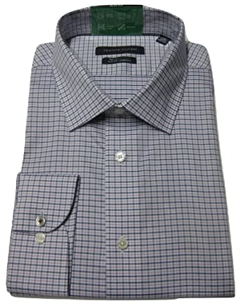 9dbf372e5 Image Unavailable. Image not available for. Color: Tommy Hilfiger Men's Slim -Fit Non-Iron Stretch Dress Shirt ...
