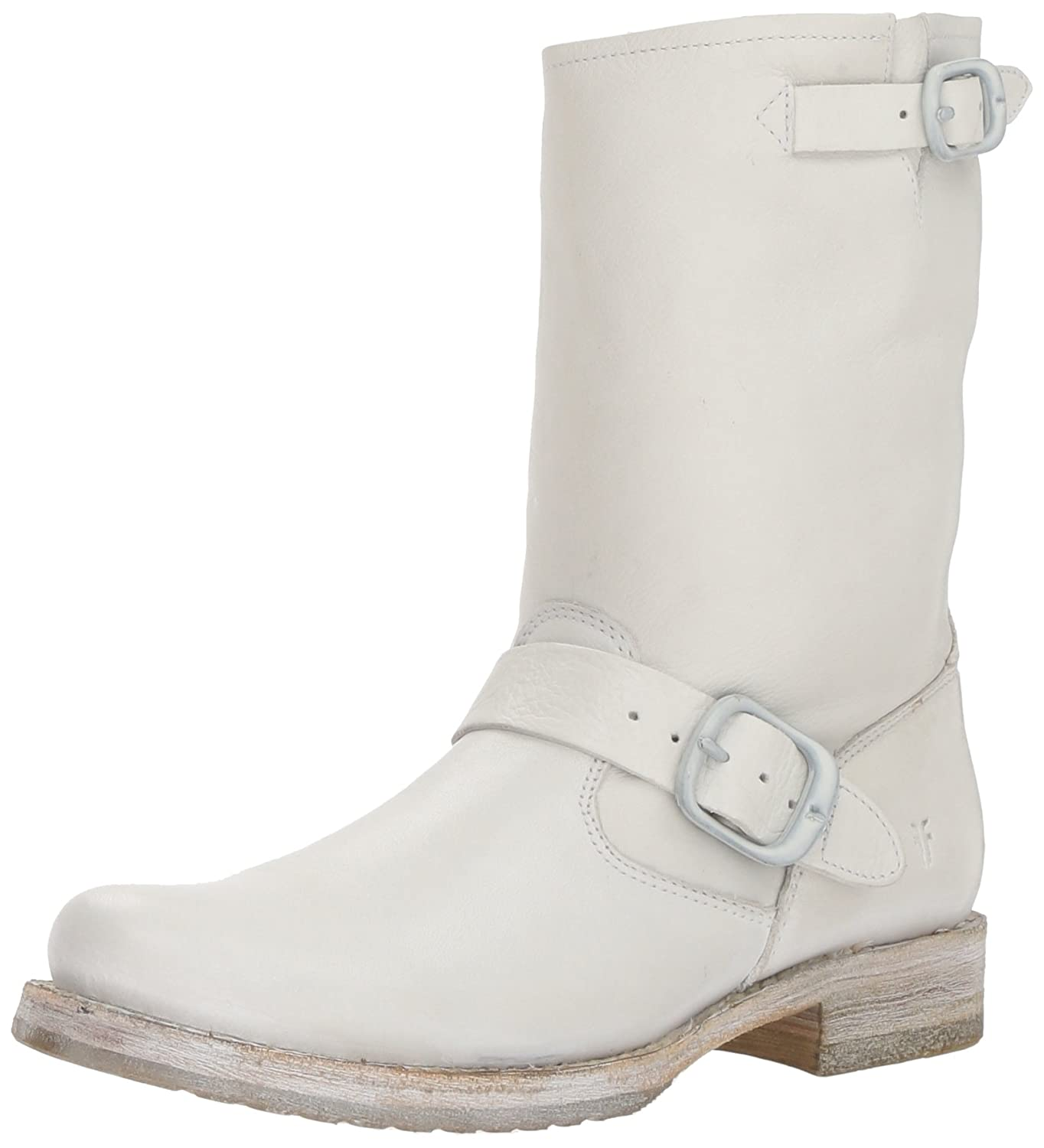 White Frye Women's Veronica Short Ankle Boot