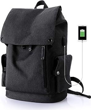 Wind Took Sac /à Dos Ordinateur Portable avec Port de Charge USB Homme//Femme pour Loisirs//Affaires//Coll/ège//Voyage