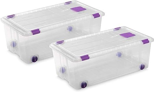 Caja almacenaje plastico
