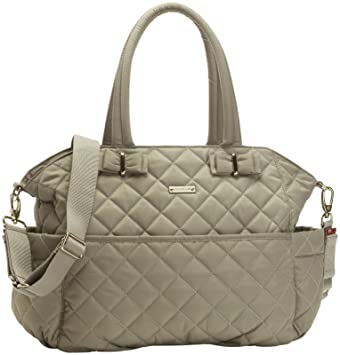f8aa7f396aea Amazon.com   Storksak Bobby Quilted Tote Bag