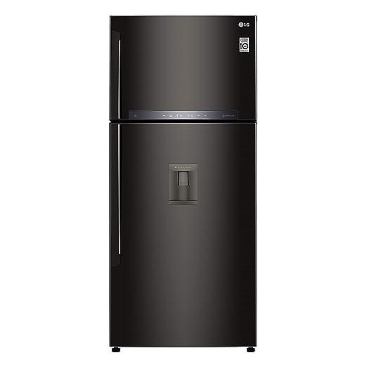 LG GTF744BLPZD nevera y congelador Independiente Negro 509 L A++ ...