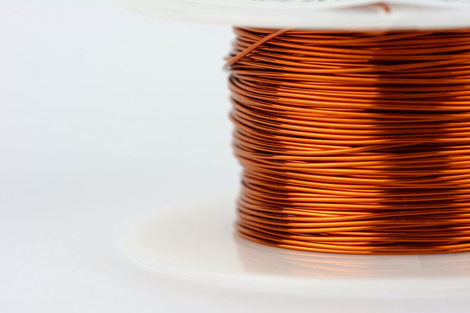 Amazon.com: TEMCo 8 AWG Copper Magnet Wire - 7.5 lb 150 ft 200°C ...