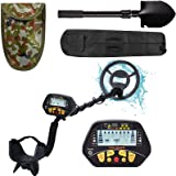 Esright Metal Detector for Adult, Gold Detector with Waterproof Sensitive Search Coil, All Metal, P/P & Disc Modes, 42…
