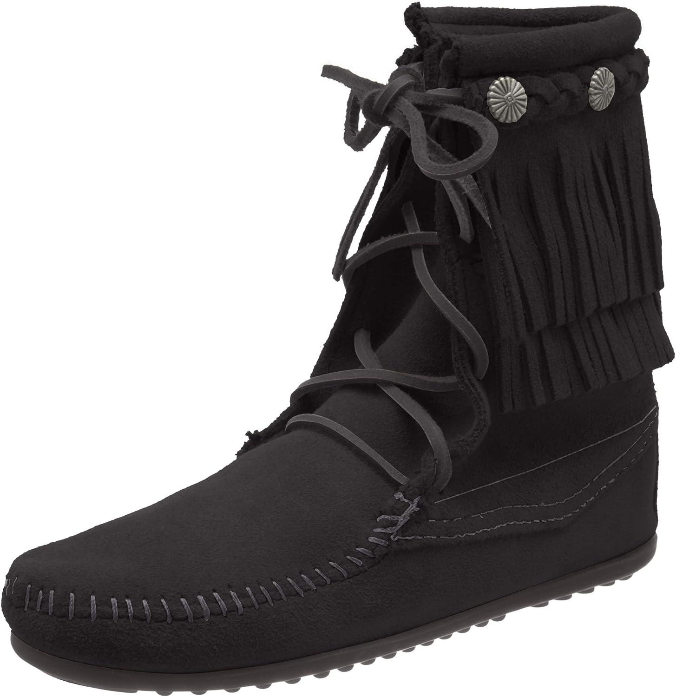 Minnetonka Women S Ankle Hi Tramper Boot Ankle Bootie