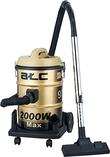 ATC Vaccum Cleaner 21 Liter, 2000 Watts - H-Vc970, Gold