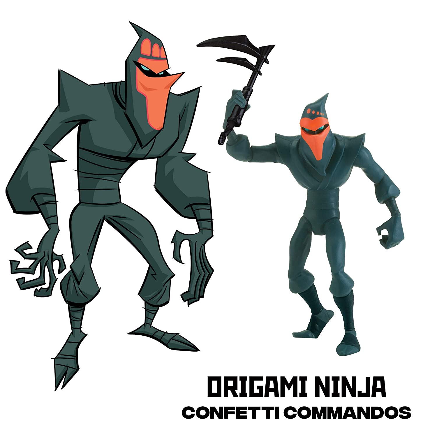 Teenage Mutant Ninja Turtles Rise of The Origami Ninja ...