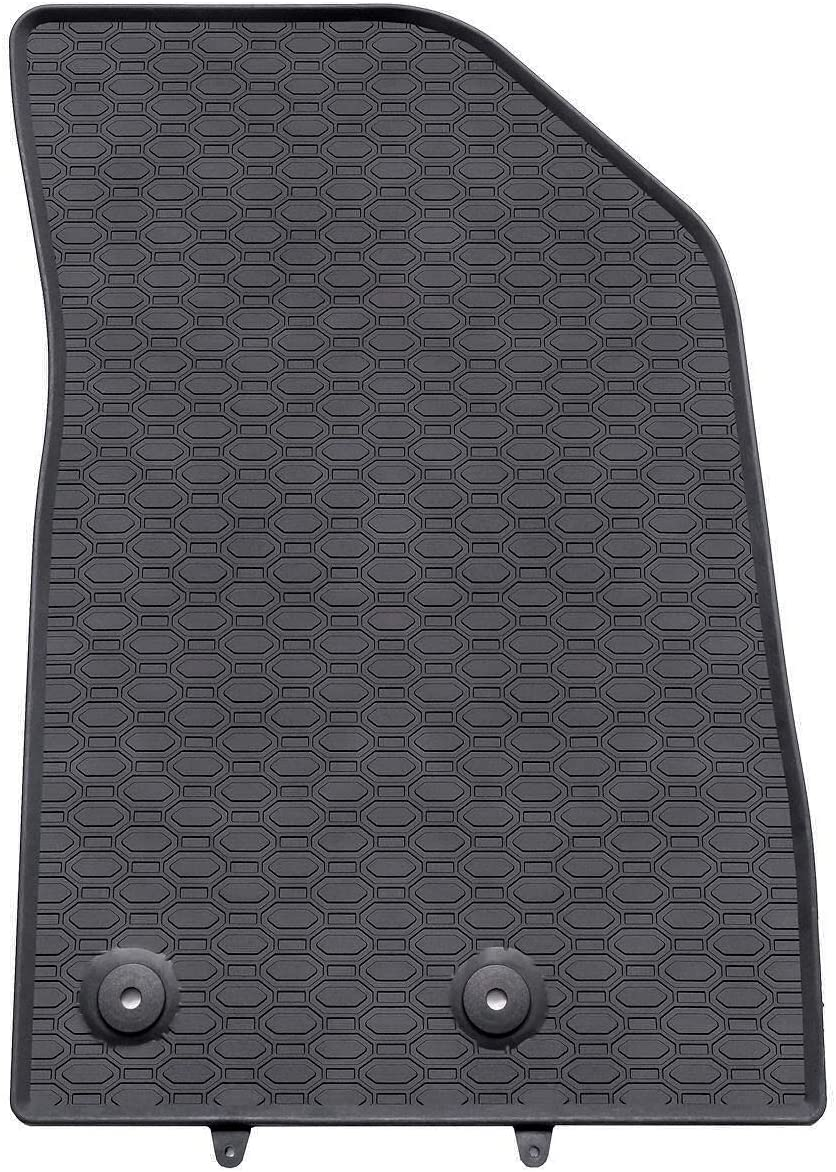 Mossa Gummi Fußmatten 4 Teilig 100 Passgenau Schwarz Gummimatten 5902538447966 Auto