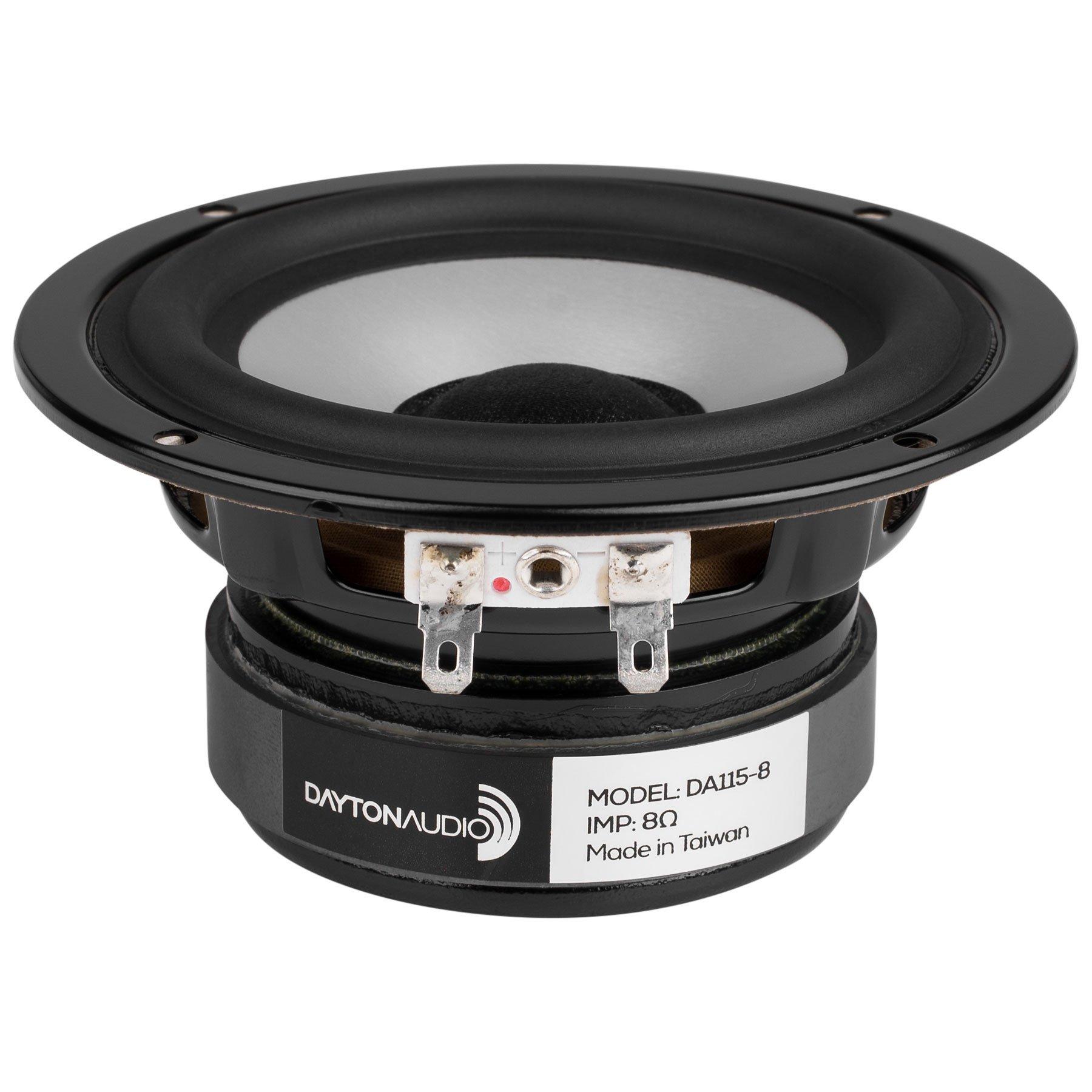 Dayton Audio DA115-8 4 Aluminum Cone Woofer