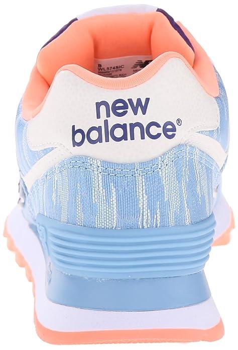 22c767da024bc Amazon.com | New Balance Women's WL574 Summer Waves Running Shoe | Road  Running