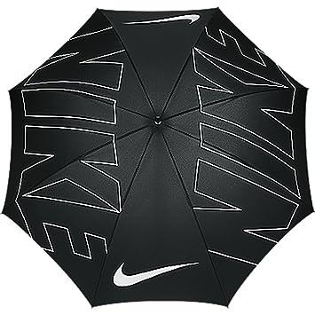 Nike 62 Windproof VIII Paraguas de Golf, Hombre, Negro/Blanco, Talla Única