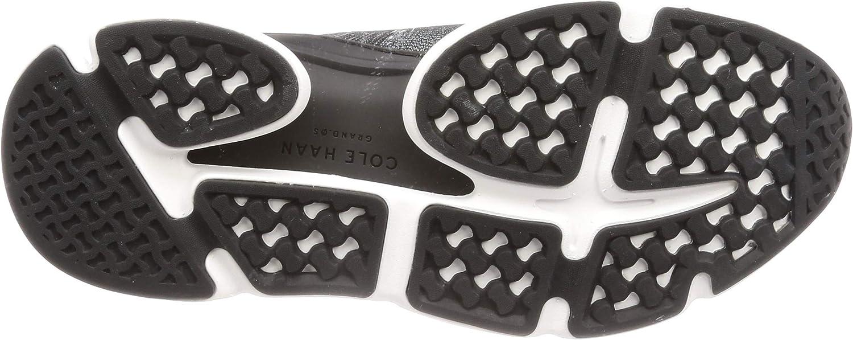 Cole Haan Herren Zerogrand All-Day Trainer-c2938 Sneaker Black Gray Pinstripe Knit Black Optic White Blk Knt Ltr Wht Gr