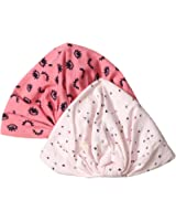 Rosie Pope Baby Girls 2 Pack Turban Hat