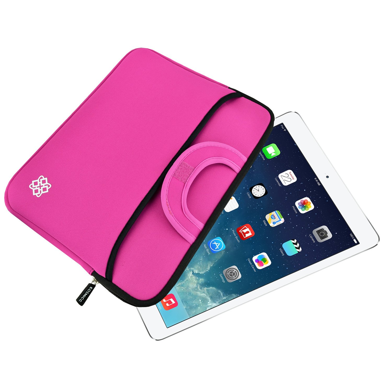 Amazon.com: KOZMICC 10 Inch Tablet Sleeve Case Cover (Pink) w ...
