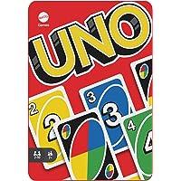 Mattel Games Juego de cartas UNO, Coleccionable, juego de mesa en lata para niños +7 años (Mattel HGB63)