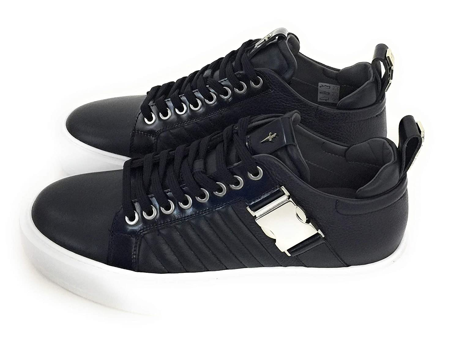 - Cesare Paciotti,Sneakers men in Pelle,blue
