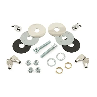 Mr. Gasket Super Security Hood Pin Lock Kit: Automotive