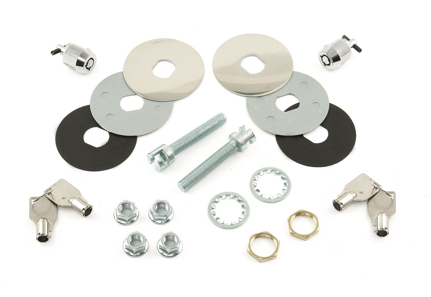Mr. Gasket 1472 Super Security Hood Lock Kit Mr Gasket