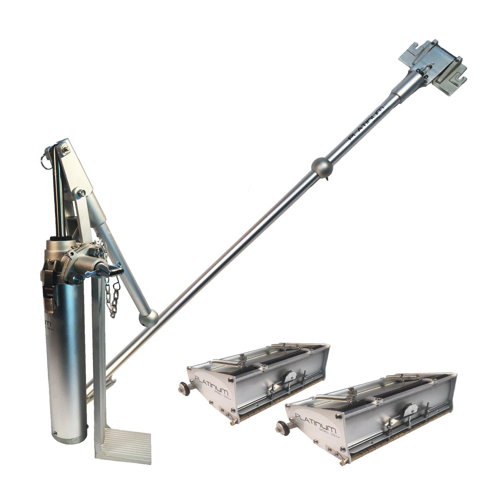 Platinum Drywall Tools Flat Box Set with 10 & 12 inch Boxes by Platinum Drywall Tools