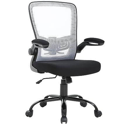 Pleasing Amazon Com Mid Back Office Chair Ergonomic Cheap Desk Ncnpc Chair Design For Home Ncnpcorg